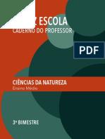 SPFE EM Prof CienciasNatureza 3º BI 2ª série