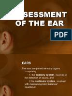 ASSESSMENT OF THE EAR