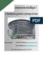 Cours_Construction métallique _1_Chapitre _1_Introduction générale