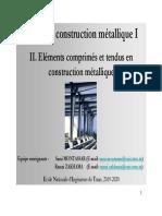 Cours_Construction métallique_1_Chapitre _2_Eléments comprimés et tendus