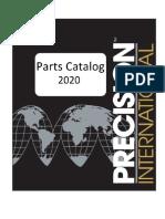 Parts Catalog 2020