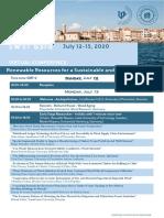 SWST 2020 Program Flyer Print