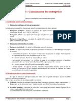 299361232 Premiere Partie Chapitre 4 Classification Des Entreprises
