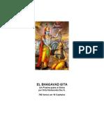 Srila Atulananda - Bhagavad Gita