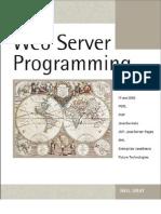 Web Server Programming