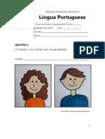 ADE - Língua Portuguesa - 1º ano do Ensino Fundamental