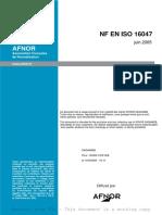 NFENISO16047_ELEMENTS DE FIXATION - ESSAIS COUPLE-TENSION