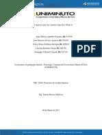 Plan de Negocios Para Un Contexto Específico (Parte 3)