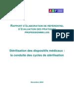 sterilisation_des_dispositifs_medicaux_la_conduite_des_cycles_de_sterilisation_rapport_2004