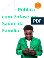 Saúde Pública com ênfase em Saúde da Família