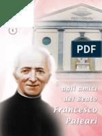 Agli Amici del Beato Paleari -  anno XXXV n.1