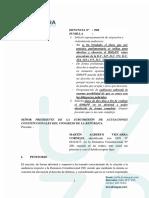 Martín Vizcarra solicitó reprogramación de citación en la SAC