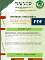 Hidroponia(soluciones nutritivas)