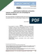 A Pentecostalização de Povos Tradicionais na Amazônia