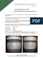 Alert 1 2016_Fev_Falsified Phenobarbital  West   Africa_FR