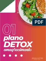 plano alimentar detox