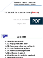 T.4 Analiza erorilor scanare laser