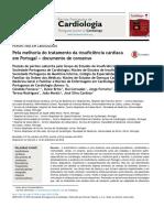 Pela melhoria do tratamento da insuficiência cardíaca em Portugal