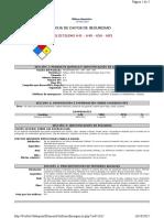 Hoja de Seguridad Ecopetrol 641 y 640