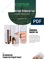Commercial Property Tax Appeal Services