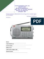 TECSUN PL-660 Traduzido