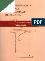A Historiografia Literária e as técnicas de escrita_capa OCR