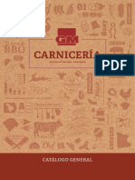 Catalogo General Carniceria Gm