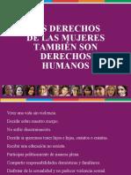 Día Internacional de la Mujer - Secretaría de DDHH - Gobierno de Santa Fe