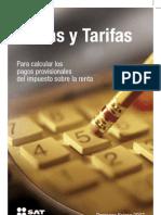 Tablas y Tarifas 2007