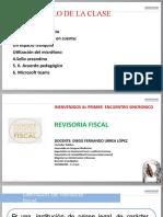 Revisoria Fiscal Primera Sesion