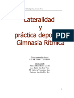 Lateralidad y Gimnasia