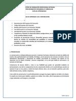 GFPI F 019 COMUNICACIÓN DESESC I PARTE
