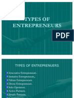 No.8 Types of Entrepreneurs
