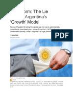 The Lie Behind Argentina's...