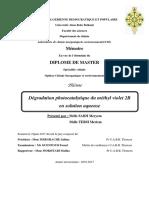Degradation-photocatalytique-du-methyl-violet-2B