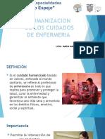 Humanización de cuidados de enfermería
