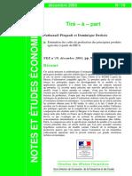 Estimation Des Couts de Production Des p