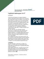 Folha de S.Paulo - Legislação antilavagem é de 97 - 10_09_2001