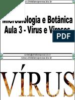 Aula Virus e Viroses - Christiano Povoa
