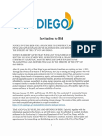 ITB for San Diego GAS Packet