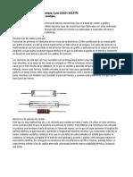Boletín T21 Componentes de un circuito analógico