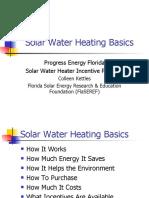 Solar Water Heating Basics