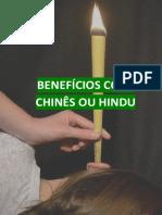 BENEFÍCIOS CONE CHINÊS OU HINDU