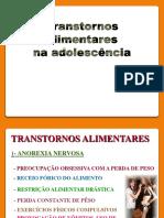 Slides para baixar transtornos alimentares na adolescência