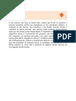 Dor torácica - Medicina Interna de Harrison - 20ª edição