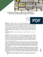 Estudos Culturais e Literatura Comparada