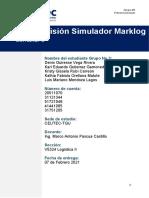 Tarea 4.1_Simulador Marklog_1 Decision Informe _Grupo No_3
