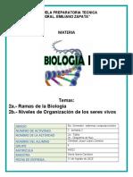 Tarea 2 Biologia 1