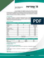 Especificación Peptinex - Bovino