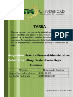 Jorge Alberto Barahona e Isis Rodriguez Tarea de Practica Procesal Administrativa PDF